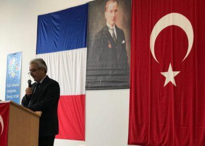 Paris eğitim müşavir Sayın Prof. Dr. Murat DEMİRKAN